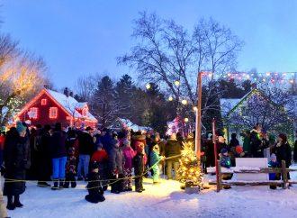 Une cérémonie tout en lumières pour la fin de semaine d'ouverture du Village illuminé Desjardins