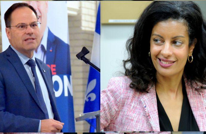 Course à la chefferie du PLQ – les deux candidats Alexandre Cusson et Dominique Anglade officiellement en campagne