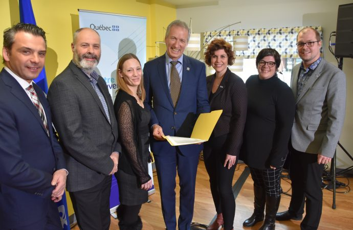 Le gouvernement du Québec investit quelque 606 286 $ pour lutter contre la pauvreté et l'exclusion sociale dans le Centre-du-Québec