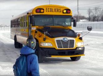 Retour à l'école et autobus scolaires vont de pair, rappelle la Sûreté du Québec