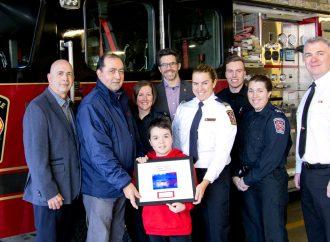 Lutte contre la dystrophie musculaire Un certificat de reconnaissance décerné aux professionnels du Service de sécurité incendie et sécurité civile