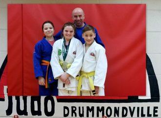 Une récolte fructueuse pour nos judokas Drummondvillois