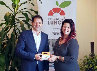 Les élèves du primaire ont permis d'amasser plus de 2 600 $ au profit des P'tites boîtes à lunch de la Tablée populaire