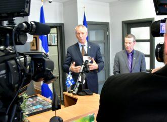 Blocus ferroviaires : Le ministre André Lamontagne se fait rassurant mais exhorte le fédéral à agir rapidement
