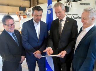Plus de 142 M$ pour les routes du Centre-du-Québec, le député Sébastien Schneeberger se réjouit des sommes investies