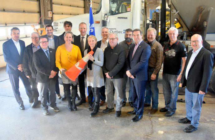 Réseau routier – Québec investit 142657000 $ au centre du Québec d'ici 2022 et annonce un nouveau pont au-dessus de l'autoroute 20, à Notre-Dame-du-Bon-Conseil