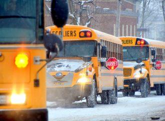 Le mauvais temps entraîne la fermeture des écoles de la Commission scolaire des Chênes