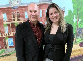 Élection du nouvel exécutif du NPD-Drummond  Sous la présidence d'honneur d'Ève Péclet, co-présidente du NPD section Québec
