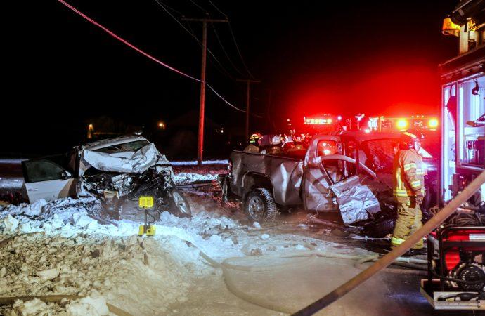 Un pompier Drummondvillois perd la vie dans un accident de la route