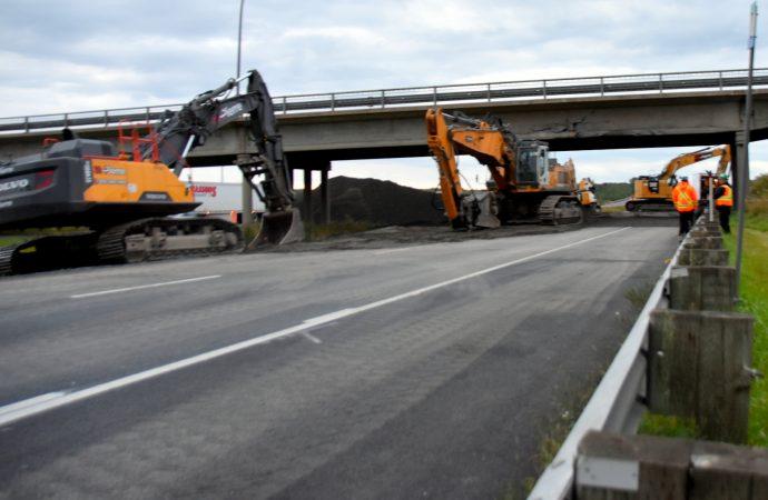 Reconstruction du pont d'étagement sur le 9e rang de Wendover, les travaux débutent plus tôt que prévu à Notre-Dame-du-Bon-Conseil
