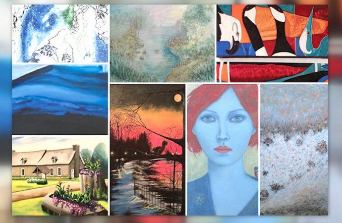 Rivia : Une exposition de la Guilde des artistes de la région de Drummondville à voir en mars