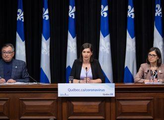 COVID-19 – La vice-première ministre du Québec, Geneviève Guilbault, annonce des mesures pour protéger nos régions les plus vulnérables