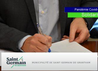 Covid-19 : La Municipalité de Saint-Germain-de-Grantham reporte les prochains paiements de taxes municipales 2020