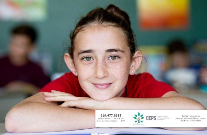 Le CEPS Drummond et la Commission scolaire des Chênes : un partenariat important dans la lutte contre la détresse chez les jeunes