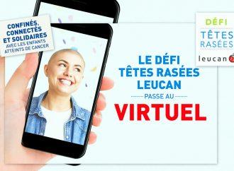 Covid-19: Confinés, connectés et solidaires avec les enfants le Défi têtes rasées Leucan passe au virtuel