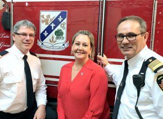 Nouvelle direction au Service et Sécurité incendie de St-Germain de Grantham