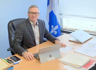 Un nouveau site Internet pour le député Martin Champoux