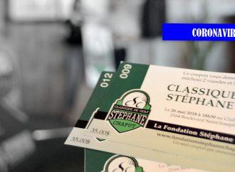 Coronavirus – Classique de golf Stéphane Chaput : Annulation de l'édition 2020