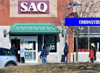 Le port du couvre-visage obligatoire dans les succursales de la SAQ