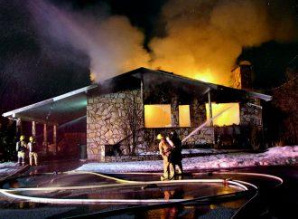 Un incendie détruit une résidence dans le secteur Saint-Nicéphore à Drummondville