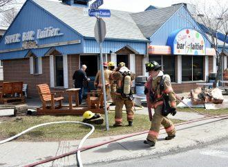 Le propriétaire d'un bar laitier a eu chaud à Drummondville