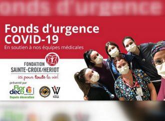 Covid-19: La Fondation Sainte-Croix/Heriot crée deux fonds d'urgence pour mieux servir la population