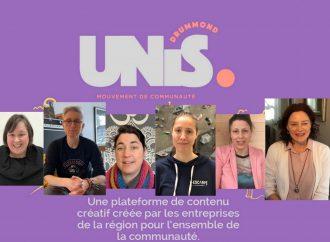 """Le projet """"DRUMMOND-UNIS"""" des entrepreneures s'unissent dans un projet porteur de sens et de soutien à Drummondville"""