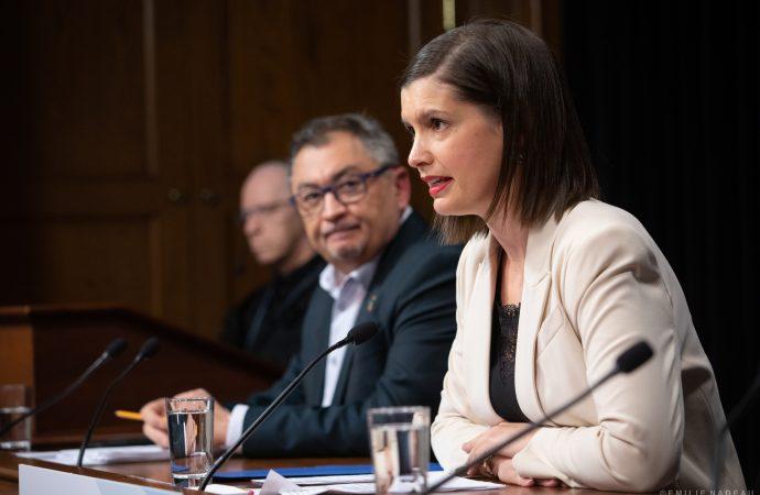 COVID-19 – La vice-première ministre Geneviève Guilbault invite les jeunes adultes à se mobiliser