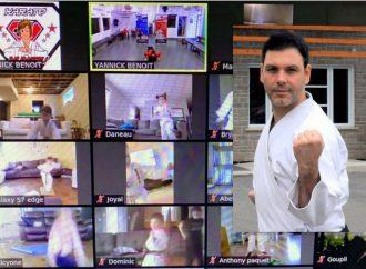 L'école Karaté Kungfu Drummond poursuit l'entraînement et vous invite à pratiquer les arts martiaux, en direct !