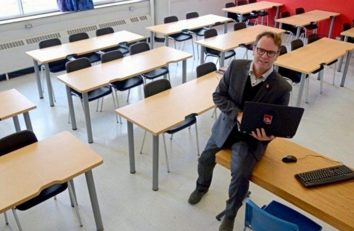 Éducation: Le collège Saint-Bernard a misé sur l'innovation et la créativité pour faire face à la crise Covid-19