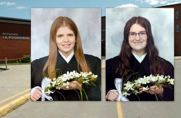 """Deux finissantes du secondaire de Drummondville lancent un cri du cœur au premier Ministre Legault : """"Et nous? Il nous a oubliés?"""""""
