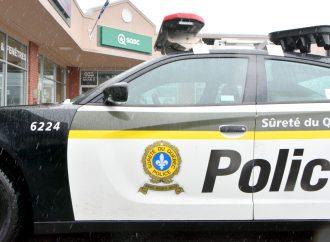 Voies de fait et menaces sur agent de sécurité de la SQDC à Drummondville