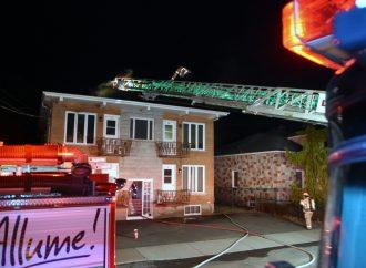 Un incendie force l'évacuation de 7 résidents d'un immeuble à logements à Drummondville