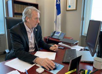 Le ministre André Lamontagne se réjouit des 3 950 foyers du Centre-du-Québec qui auront accès à Internet haut débit