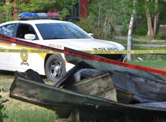 La Sûreté du Québec enquête sur un deuxième incendie suspect à Saint-Lucien