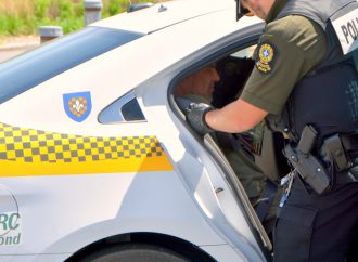 Les policiers de la SQ mettent la main au collet d'un Drummondvillois en cavale