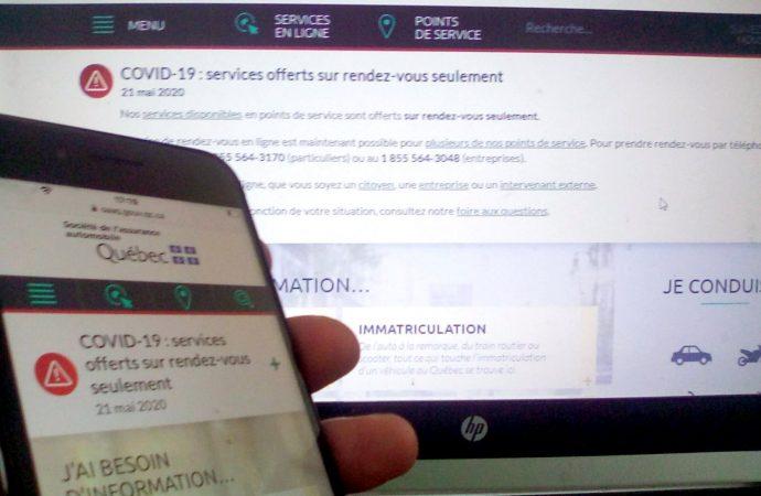SAAQ :  Les lignes de téléphone sont surchargées, la SAAQ offre une nouvelle solution à Drummondville