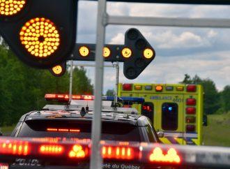Collision mortelle sur la route 116 à Kingsey Fall