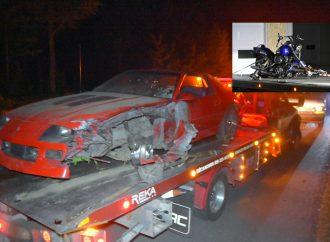 Enquête des crimes majeurs de la SQ à la suite d'un accident mortel et délit de fuite à Sainte-Perpétue