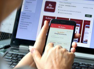 Collecte et utilisation d'informations personnelles, l'application mobile de la chaîne Tim Hortons sous enquête