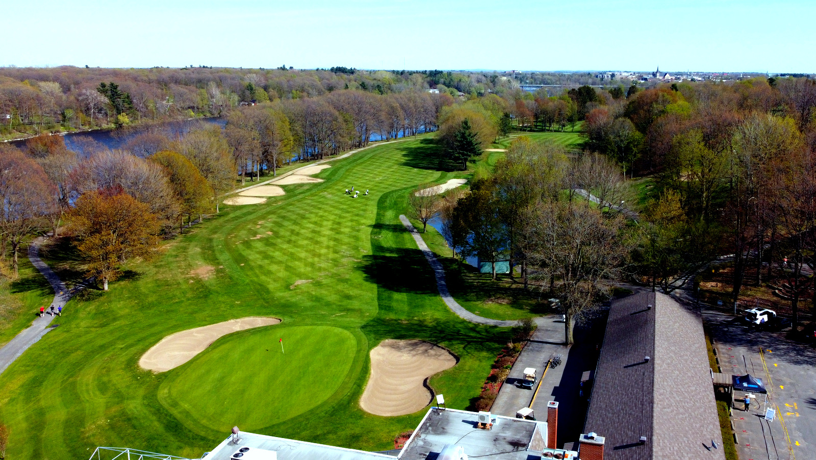 Le Club de Golf Drummondville repousse le début des travaux prévus pour  2020 à l'automne 2021. – Vingt55