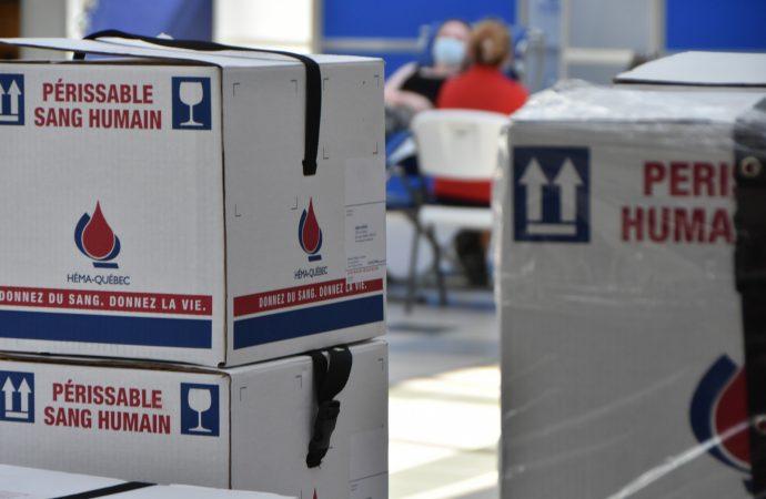 La réserve de sang est basse – Héma-Québec a besoin de 400 donneurs de plus par jour