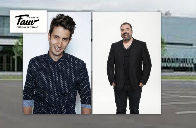 """De l'humour en mode """"Drive-in"""" les 24 et 25 juillet, au Centrexpo Cogeco de Drummondville"""