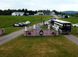 Importante opération policière en lien avec la production de drogues de synthèse au Centre-du-Québec