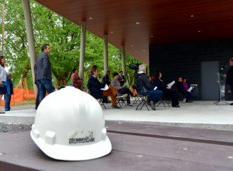 Coup d'envoi de la phase 2 des travaux d'aménagement du parc Kounak à Drummondville