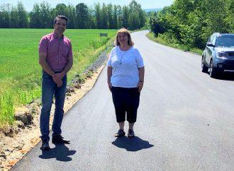 Le député Sébastien Schneeberger annonce 307 502 $ pour améliorer le réseau routier de la circonscription de Drummond-Bois-Francs