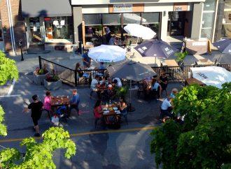 Les terrasses publiques du centre-ville de Drummondville ouvertes au grand bonheur des Drummondvillois