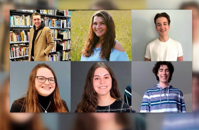 Prix ambassadeurs Cégep Drummond, 6 étudiants d'exception honorés !