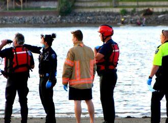 Un appel de sauvetage et vérification sur la rivière Saint-François pour les pompiers de Drummondville, plaisanciers soyez prudents !