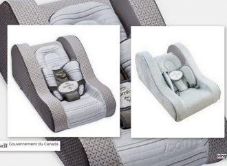 Avis – Santé Canada recommande de cesser d'utiliser et de vendre deux produits de sommeil pour nourrissons de Baby's Journey